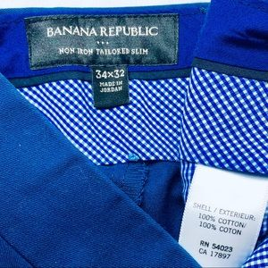 Banana Republic Pants - Banana Republic Navy Vogue Dress Pants